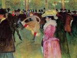 Dance at the Moulin Rouge, ToulouseLautrec
