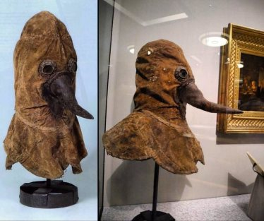 Here's an Authentic 16th Century Plague Doctor Mask Preserved and ...