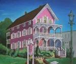 Melinda Saminski The Pink House in CapeMay