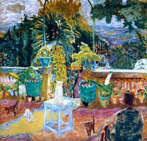 Cats on the Veranda, Pierre Bonnard