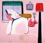 Philip Guston – By the Window, 1969 (oil oncanvas)