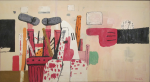 Philip Guston – Courtroom, 1970 (oil on canvas)