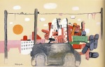 Philip Guston – Dawn, 1970 (oil oncanvas)