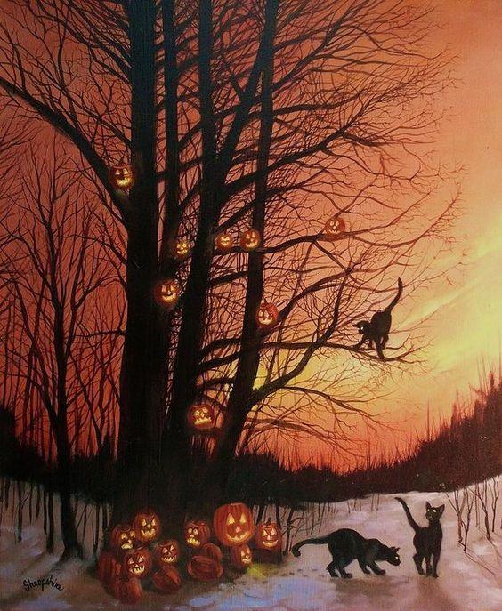 Pumpkin Tree, by Tom Shropshire