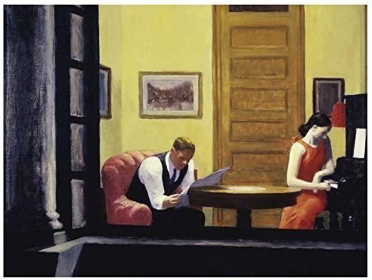 Room in NY, Hopper, 1932