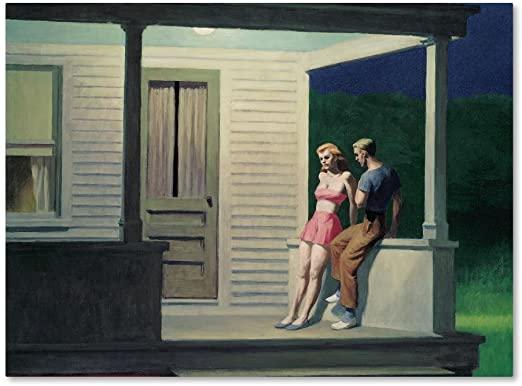 Summer Evening, Edward Hopper, 1947