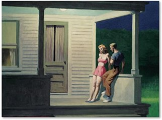 Summer Evening, Edward Hopper, 1947