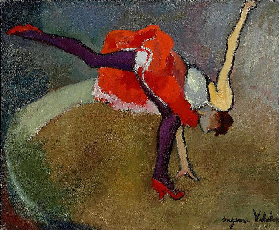 The Cartwheel, Suzanne Valadon