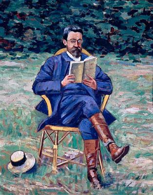 Agutte, Georgette Marcel Sembat lisant, 1910-20