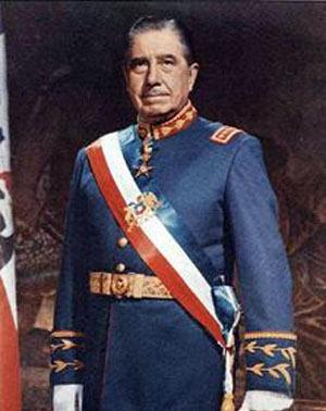 Augusto Pinochet, chile