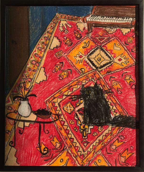 Cat on the carpet, Gleb Baranov