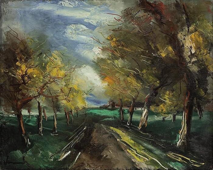 The Road Under the Trees, Maurice de Vlaminck
