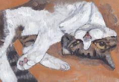 5b1acce4221514ee0caea371adb2a734--japanese-art-cat-art
