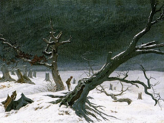 Caspar David Friedrich, Winter Landscape