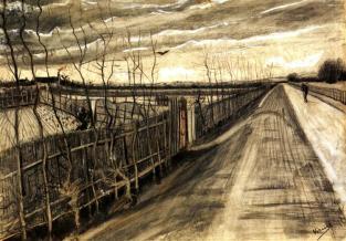 country-road-1890 Vincent van Gogh