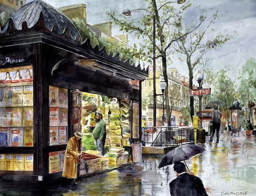Paris in the Rain, by Dan McCole