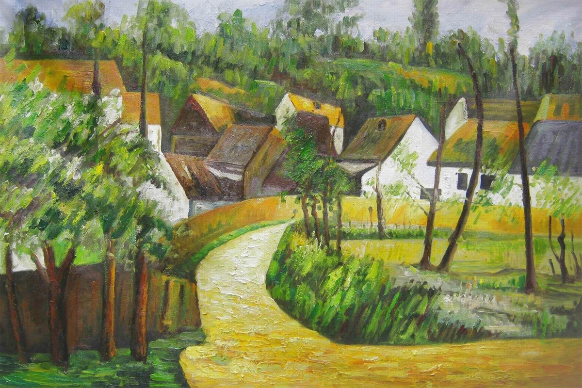 Turn in the Road, Paul Cezanne