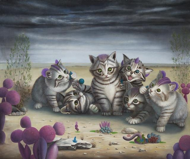 jpg_Cat_Art_Show_2_Jean_Pierre_Arboleda_Playtime