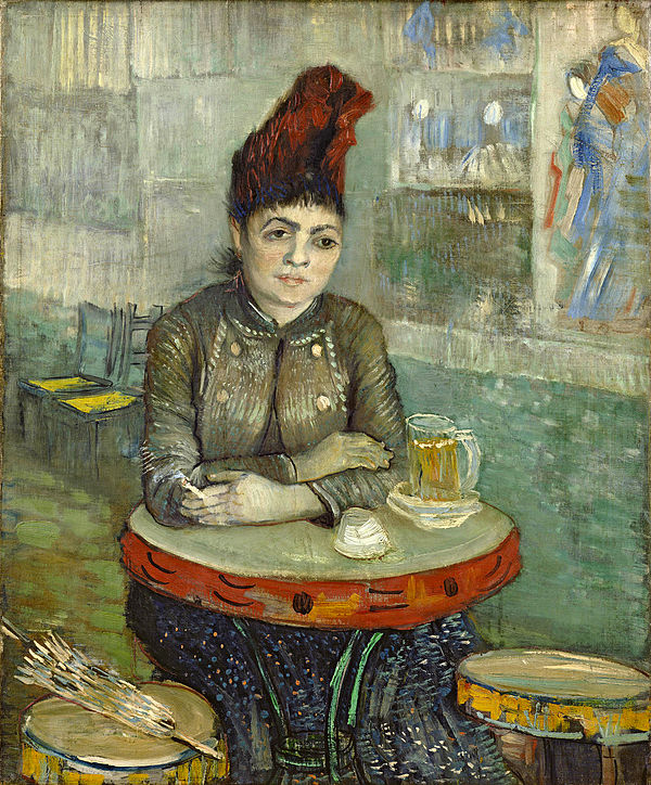 Agostina Segatori Sitting in the Café du Tambourin, 1887