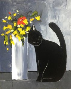 Atelier de Jiel, Black Cat and His Flowers