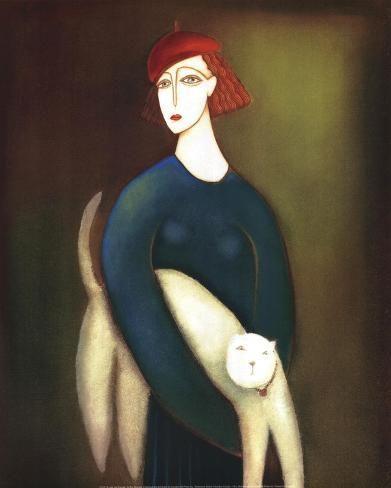 Eva Skierska, A Lady and Cocotte