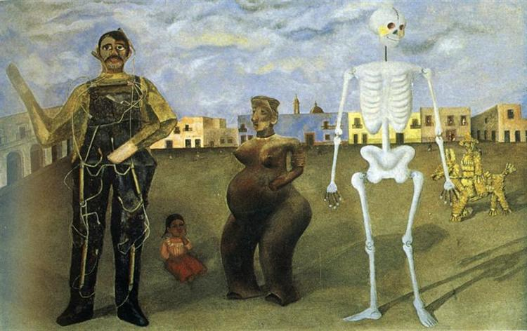Four inhabitants of Mexico, Frida Kahlo, 1938