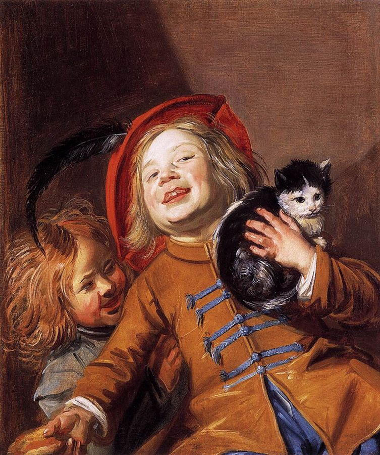 Judith Leyster, Two Childrren with a Cat,