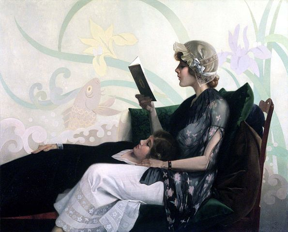 Just a Couple of Girls by Harry Wilson Watrous, 1915