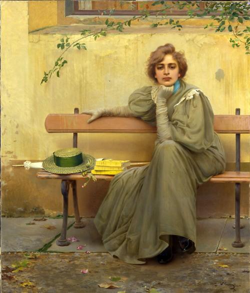Vittorio Matteo Corcos, Dreams / Sogni, 1896|