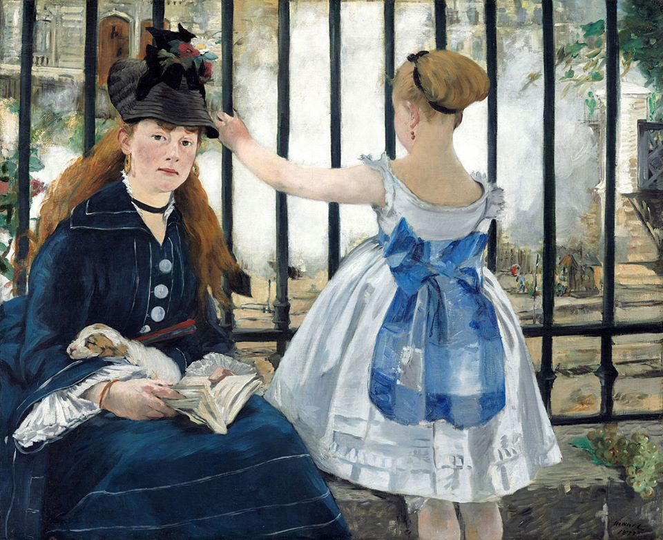 The Railway, Edouard Manet, 1873