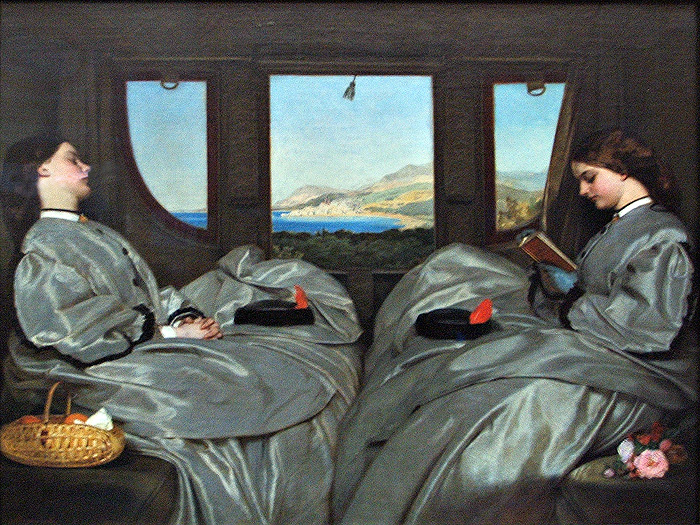 The Travelling Companions by Augustus Egg