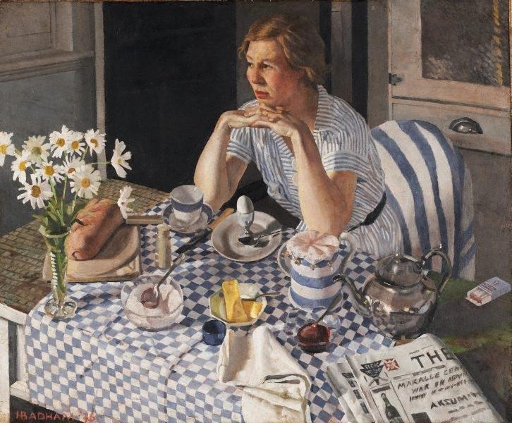 Breakfast Piece, Herbert Badham