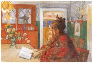 Karin Reading, Carl Larsson