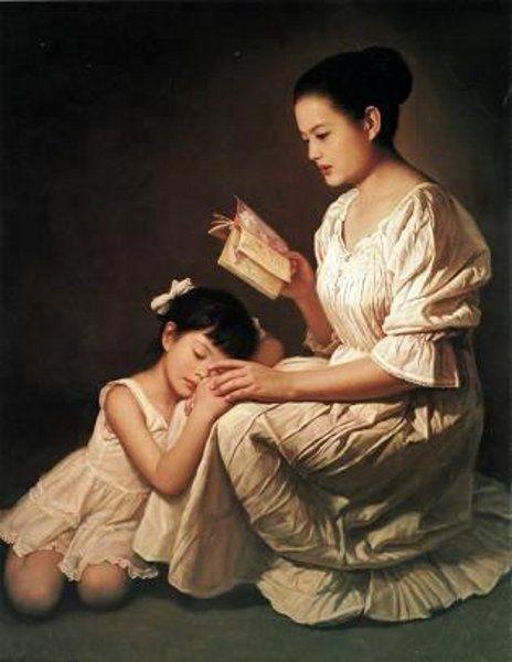 Painting by Li ZiJian