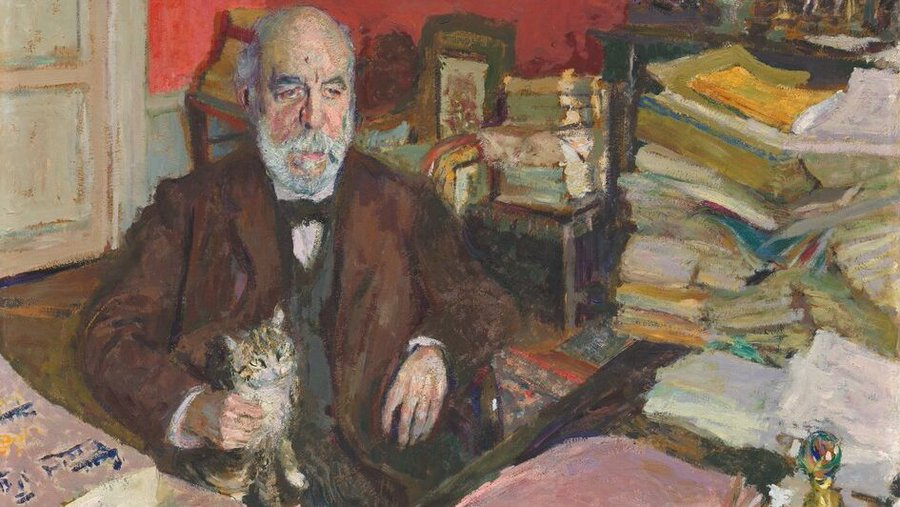 Theodore Duret in His Study, Edouard Vuillard, 1912