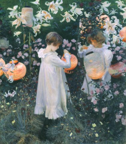 Carnation, Lily, Rose, John Singer Sargent