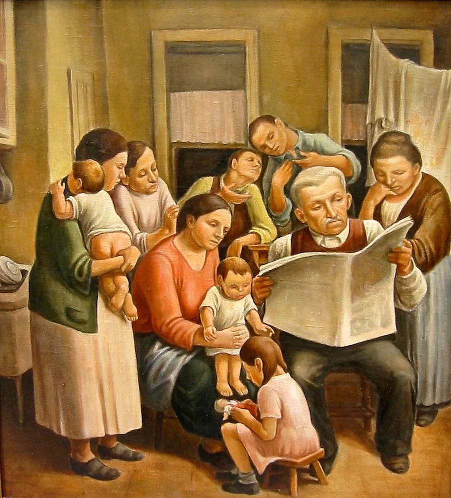 Daniel R. Celantano, Reading the news