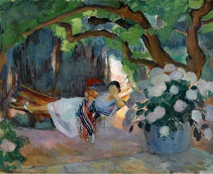 Henri Lebasque, Summer Woman