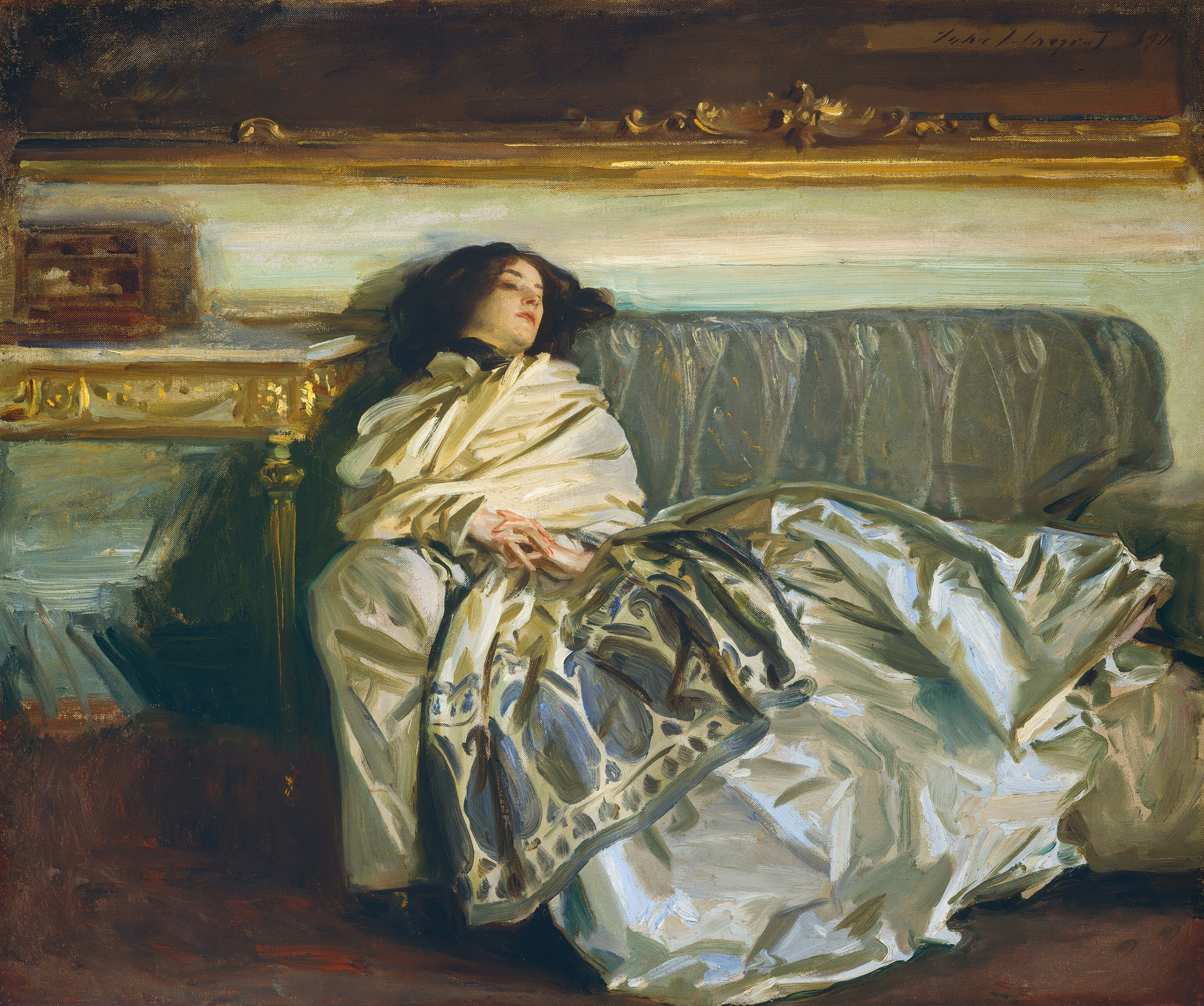 Nonchaloir (Repose), by John Singer Sargent