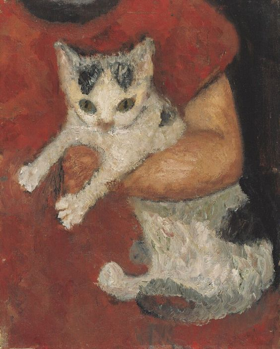 Paula Modersohn-Becker (German, 1876 – 1907) Cat held by a child