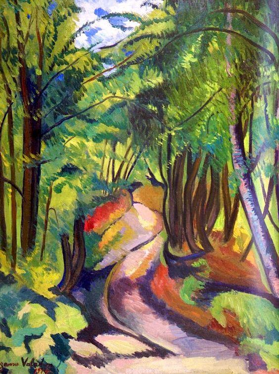 Suzanne Valadon, Sous-Bois, 1914