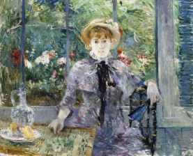 Apres le Dejunier, Berthe Morisot