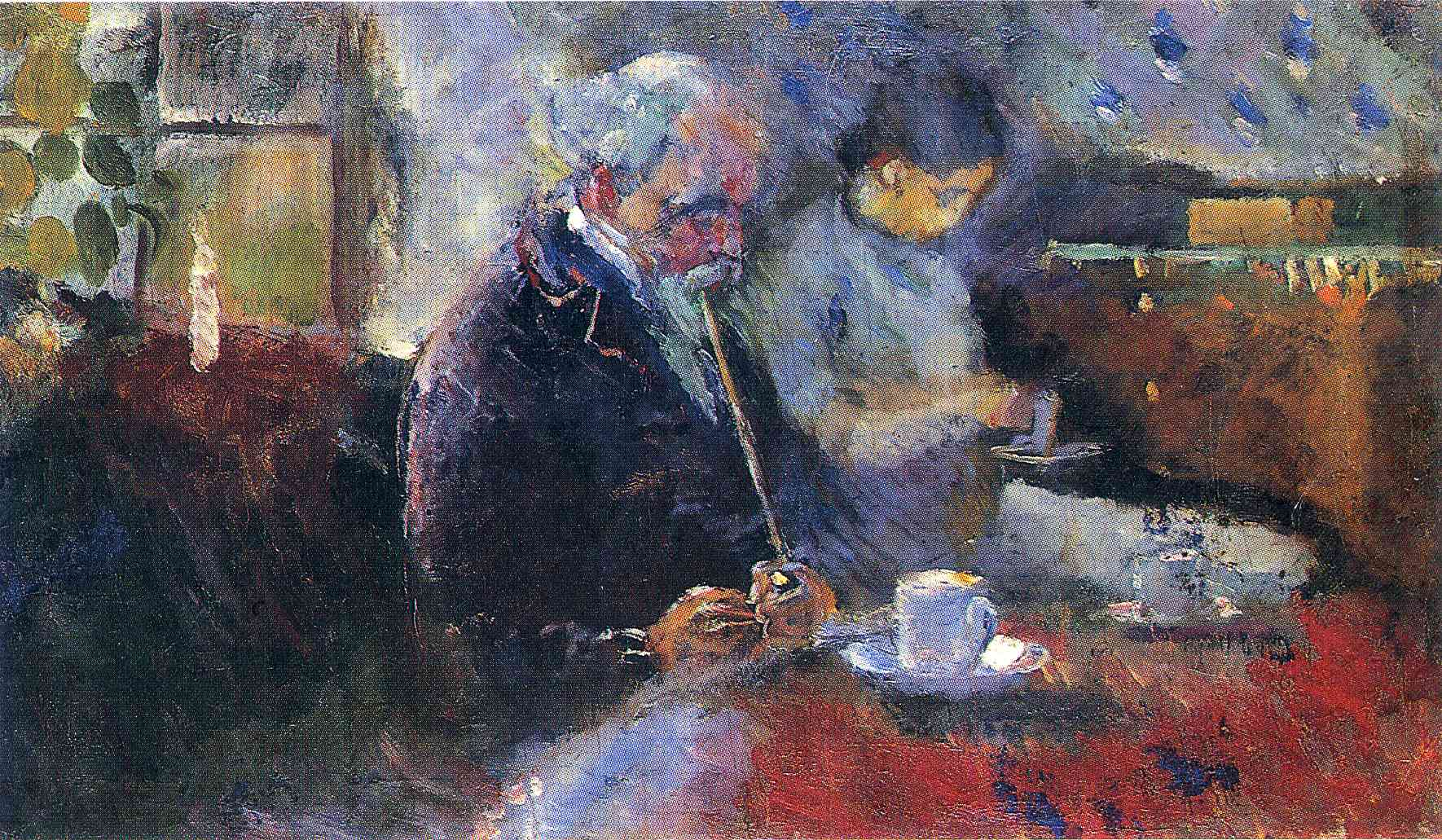 Edvard Munch, At The Coffee Table, 1883, Munch Museum, Oslo