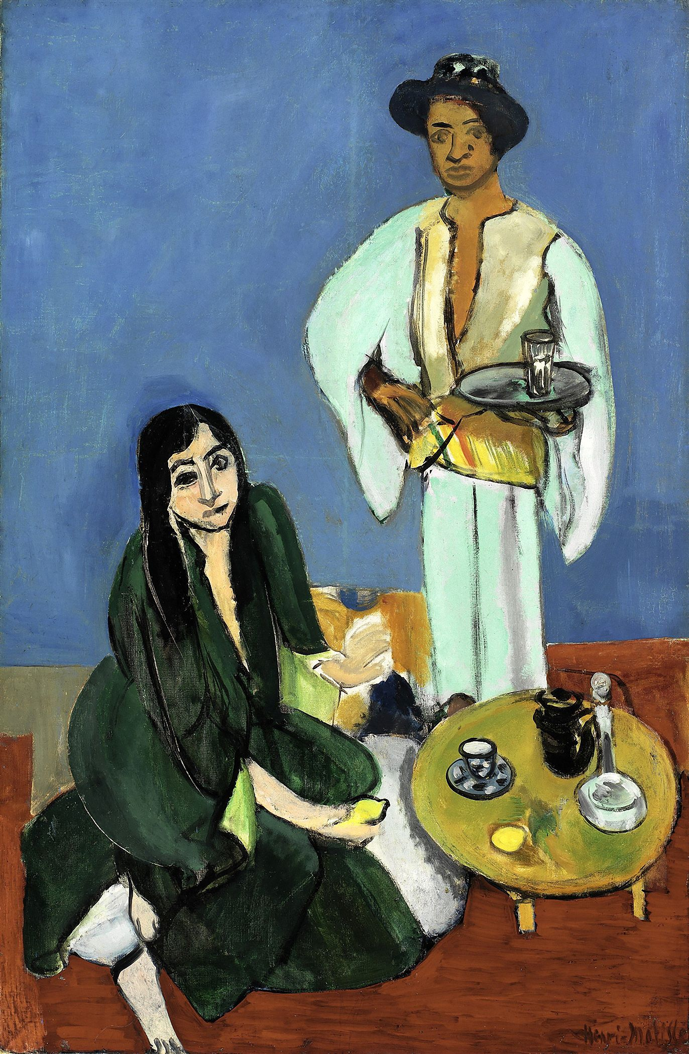 Henri Matisse, Coffee, 1916, Detroit Institute of Arts