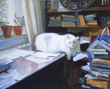 Intellectual Cat, Olena Kamenetska-Ostapchuk