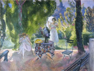 Lunch in the Garden, Henri Lebasque