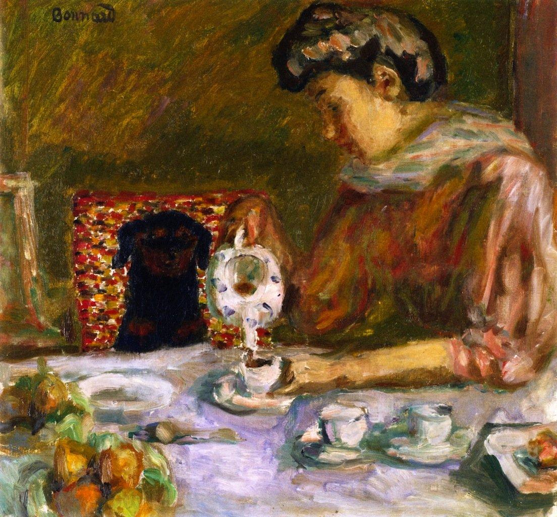 Pierre Bonnard, Coffee, 1907
