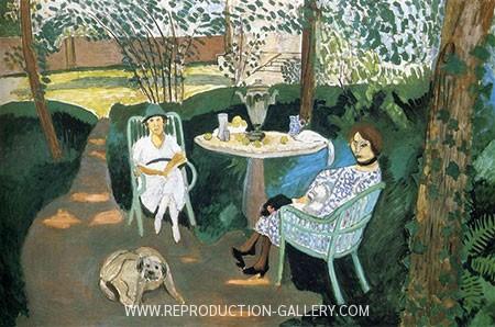 Tea in the Garden, Henri Matisse, 1919