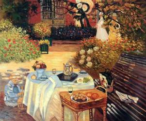 The Luncheon, Claude Monet