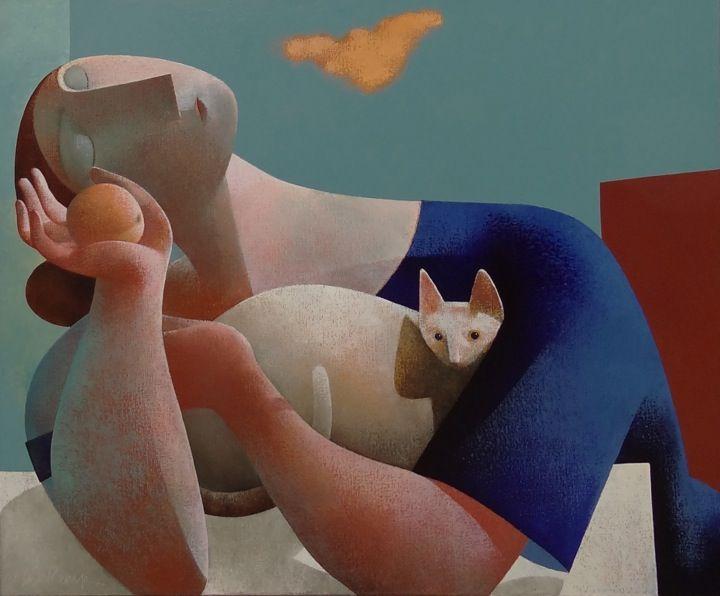 8-Cat-and-Woman-Peter-Harskamp